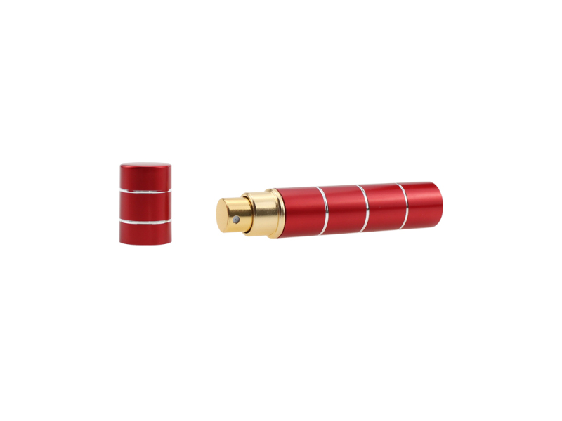 Lipstick type pepper spray PS08M078 for self defense red
