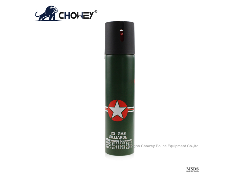 High capacity pepper spray PS110M054 for self defense
