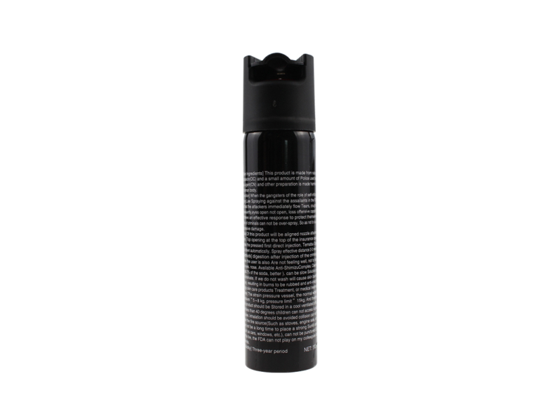 High capacity pepper spray PS110M055 for self defense