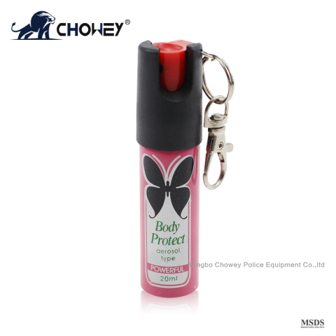 self defense pepper spray PS20M121 with safety device
