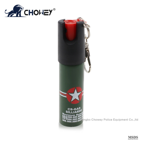self defense pepper spray PS20M125 with safety device