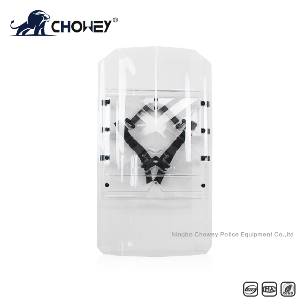 Polycarbonate Czech Shield Both Hand Useable Customized LOGO Available AS2068