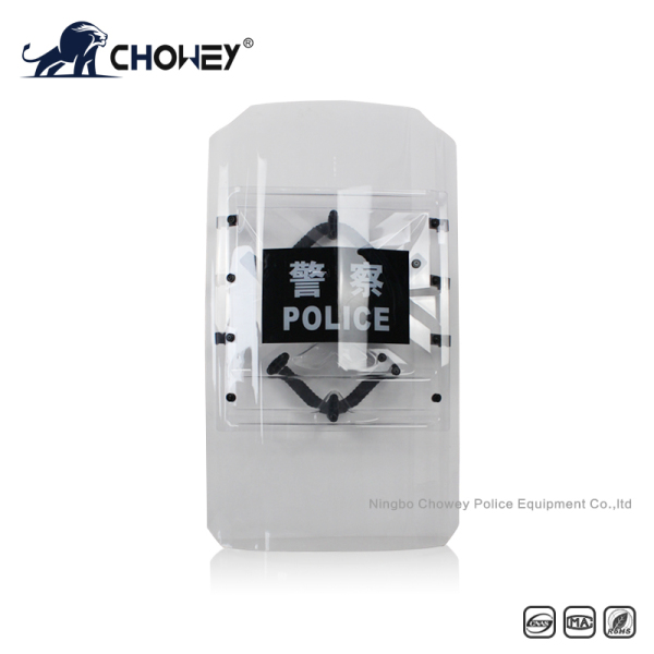Thermoformed Polycarbonate Czech Shield Both Hand Can Use AS2089
