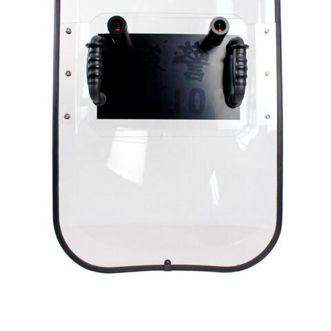 Soliede polikarbonaat Transprant Shield Franse tipe AS2209