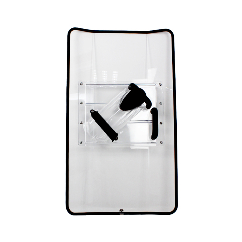 Transparent Anti-Riot Shield with PC Material AS2217