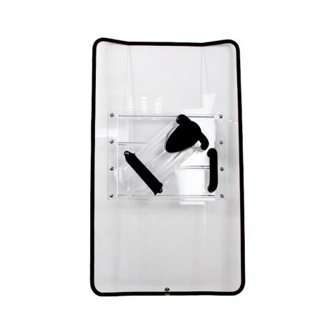 Onbreekbare polikarbonaat Transprant anti-oproerskerm AS2217