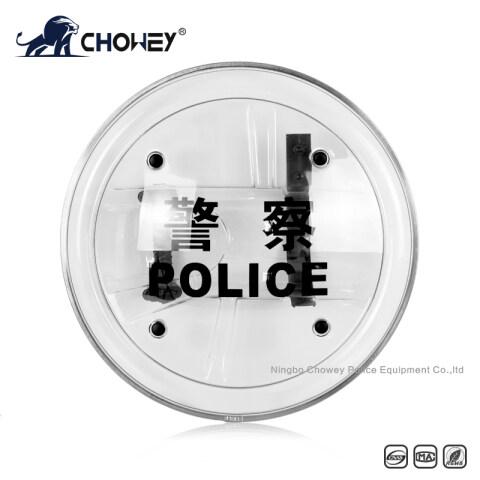 Polisie rondom Anti Riot Self Defense Shield AS2416