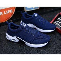 Flying weave men's sport shoes low-cushioned running shoes
