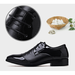 New plus-size men's shoes, pointy shoes, breathable men's casual shoes, and stylish men's shoes