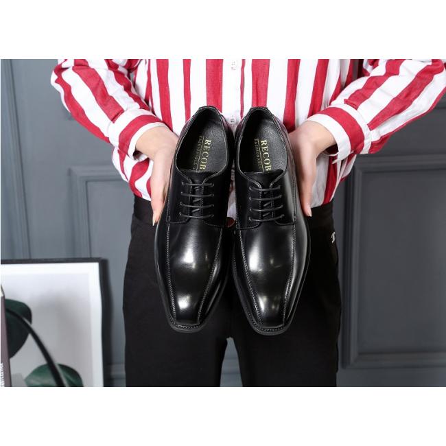 Men's leather shoes gentleman dress men's leather shoes business casual shoes office men's shoes