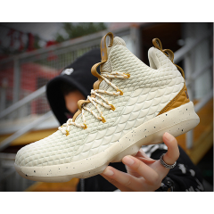 Basketball shoes men's casual shoes increased wear-resistant flying woven couple sports men's shoes