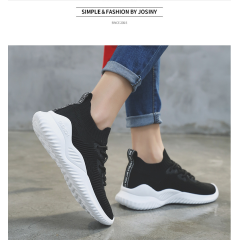 2019 summer running shoes flying woven socks shoes casual mesh sneakers