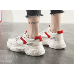 Old shoes female 2019 summer ins new wild Korean ulzzang students hollow breathable mesh sneakers