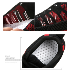 Casual sports shoe AlphaEdge fly knit men's shoes breathable trend mesh shoes