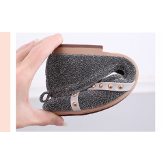 Pregnant women soft bottom flat shoes 2019 women's shoes Trendy pointed rivets single shoes women's casual shoes