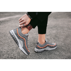 New air cushion running shoes casual breathable mesh panel shoes sports running shoes