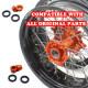 VMX SUPERMOTO WHEELS SET FOR KTM EXC SX-F 125 200 250 300 400
