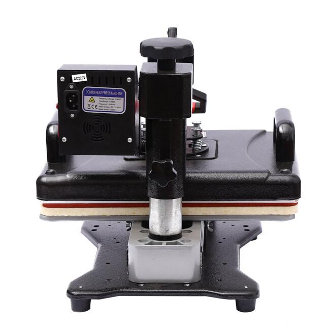 5 in 1 combo heat press machine ( pull and push)