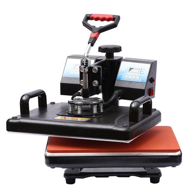 Dual heat press machine