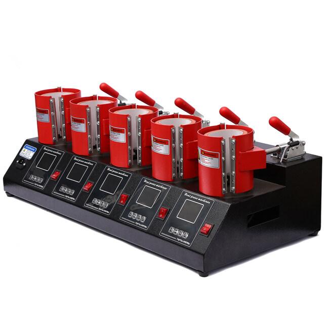 5 in 1 mug press machine ( 5 meter)