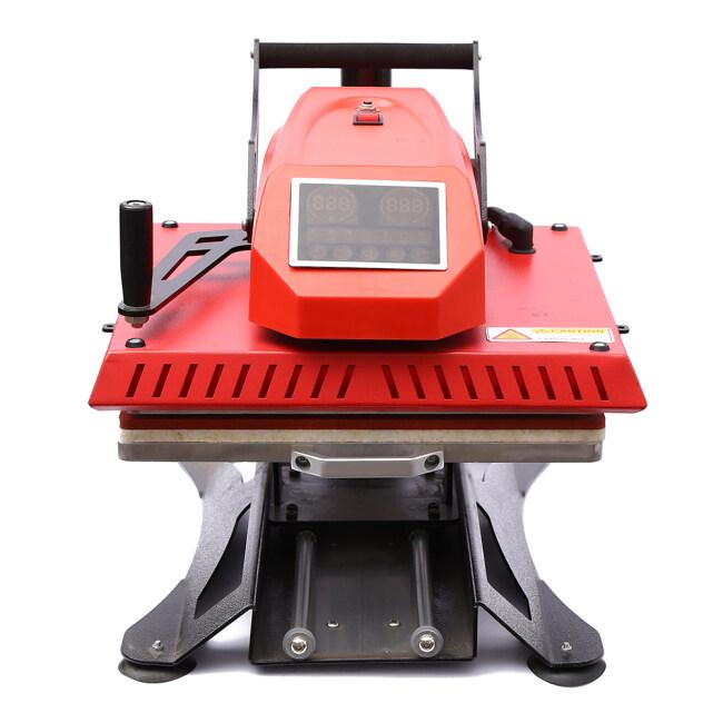 touch screen swing away heat press machine