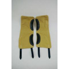 WWII German GAITERS / LEGGINGS Sand yellow
