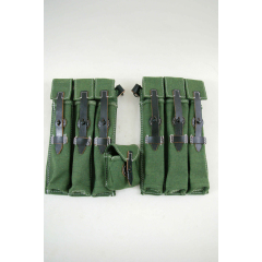 WWII German MP40 canvas ammo pouch