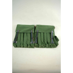 WWII German MP40 Fallschirmjager 5-MAG Ammo Pouches