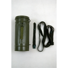 WWII German Gas Mask Canister field gray