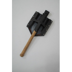 WWII German E-Tool folding shovel with carrier