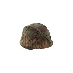 WWII German Heer Tan & water camo helmet cover Stahlhelm cover M35 M40 M42