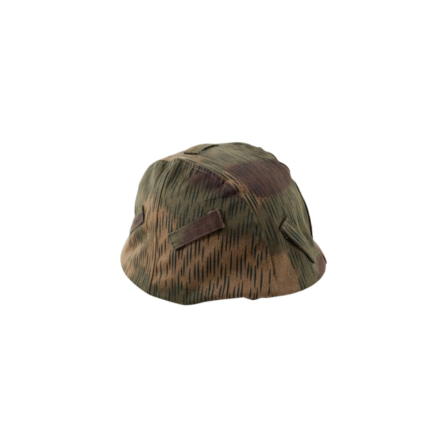 WWII German Heer Tan & water camo helmet cover Stahlhelm cover M35 M40 M42