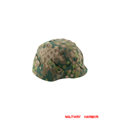 WWII German SS DOT 44 camo helmet cover Stahlhelm cover M35 M40 M42