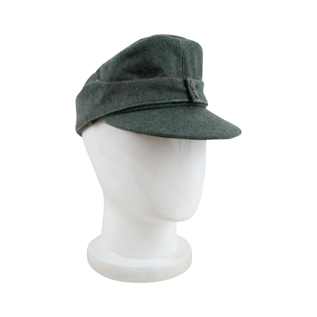 WWII German Heer EM M43 Field Cap field grey