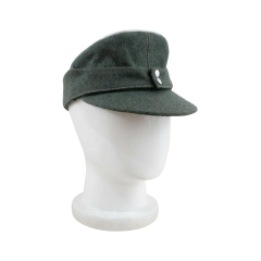 WWII German Heer Officer M43 Field Cap field grey