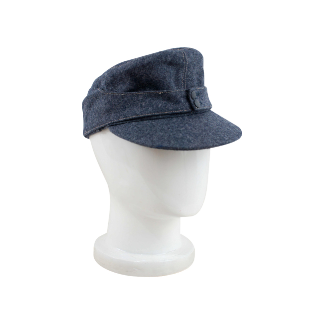 WWII German Luftwaffe EM M43 Field Cap blue grey