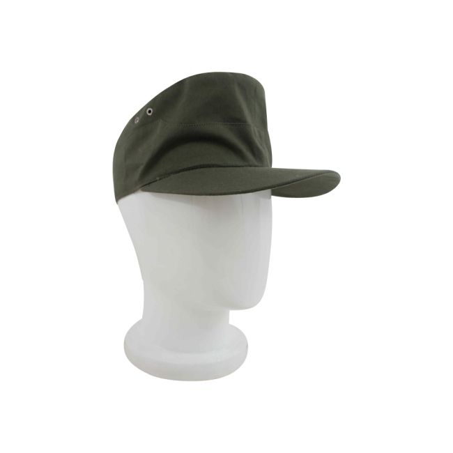 WWII German Tropical/DAK Heer EM Field Cap Olivebrown