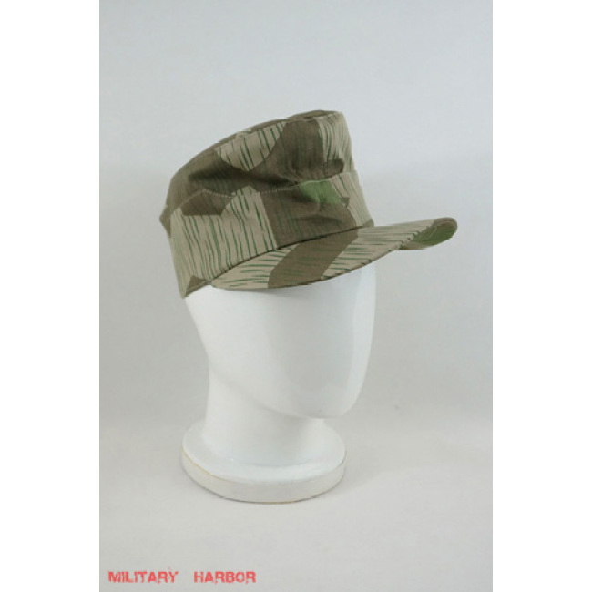 WWII German Heer Splinter Camo field cap