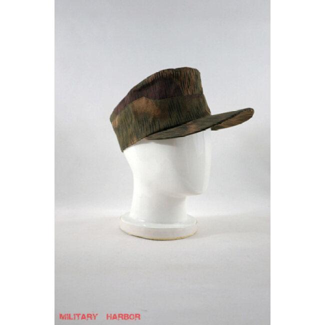 WWII German Heer tan & water camo field cap