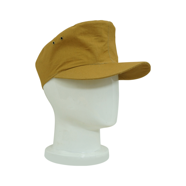 WWII German Tropical/DAK SS EM sand Field Cap