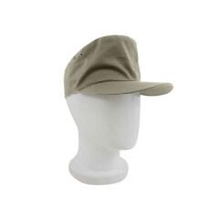 WWII German Heer summer HBT EM service cap off white