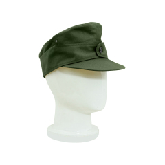 WWII German M44 Tropical/DAK Heer EM Field Cap olive