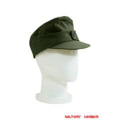 WWII German M44 Tropical/DAK Heer Officer Field Cap olive