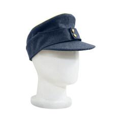 WWII German Luftwaffe General M43 Field Cap blue grey