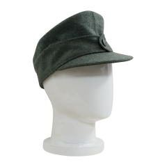 WWII German Heer EM M44 Field Cap field grey