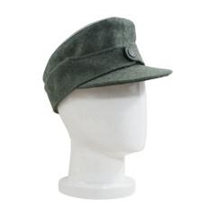 WWII German Heer Officer M44 Field Cap field grey