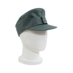 WWII German M43 EM Gabardine field cap field grey