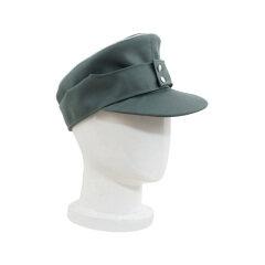 WWII German M43 Officer Gabardine field cap field grey