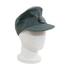 WWII German M44 Officer Gabardine field cap field grey