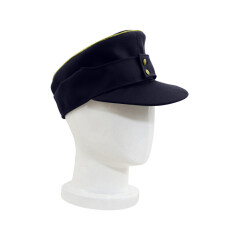WWII German M43 Kriegsmarine General Gabardine Field Cap Navy blue